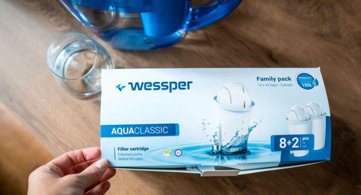 Dzbanek filtrujący od Wessper