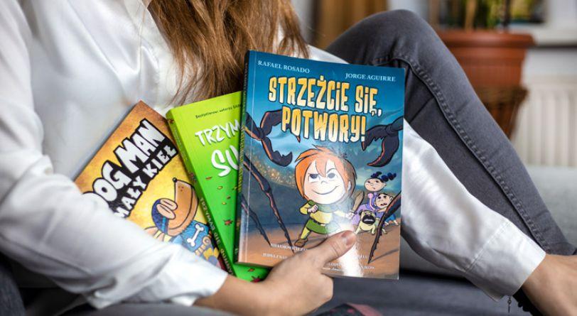 Przezabawne komiksy dla najmłodszych