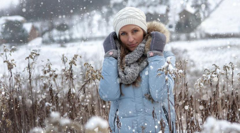 Niespieszny spacer zimą